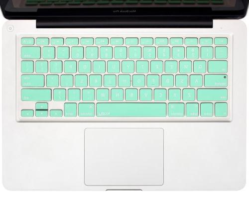"""Kuzy Mint GREEN Keyboard Silicone Skin for MacBook 13"""" 15"""" MacBook 13"""" Mint"""