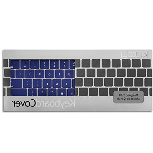 "Kuzy - NAVY Keyboard Pro 13 inch Release 12"" Silicone Skin - Navy Blue"