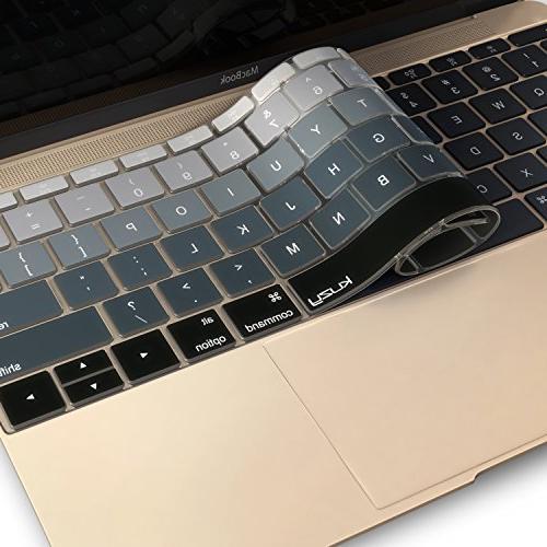 Kuzy Cover MacBook 13 inch A1708 2016 inch Silicone Skin -