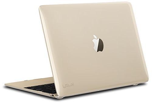 "Kuzy Retina 12-inch CLEAR Crystal Hard Case for MacBook 12"""