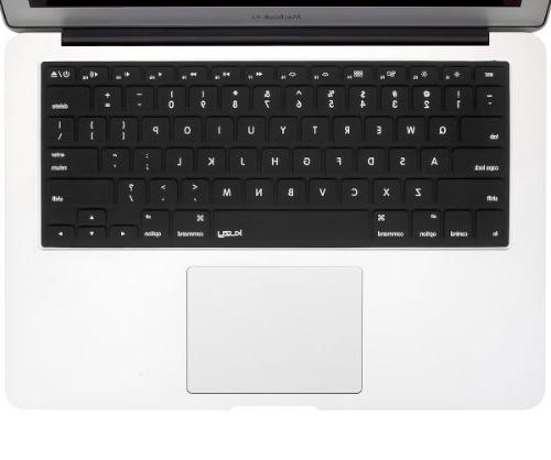 "Kuzy Solid Cover Skin MacBook Pro 13"" 15"" 17"" iMac Air - Black"