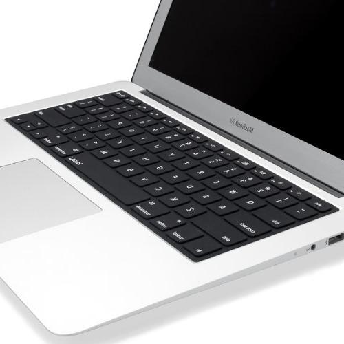 "Kuzy Solid BLACK Keyboard Cover MacBook Pro 13"" 17"" iMac and MacBook Air -"