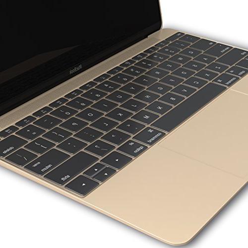 Clear Keyboard MacBook 13 A1708 Release 2016 & MacBook 12 Soft Clear