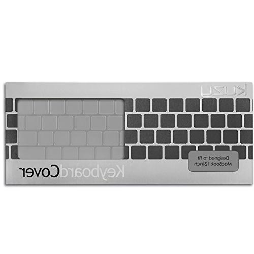 Kuzy Transparent-CLEAR for MacBook inch & A1534 - CLEAR