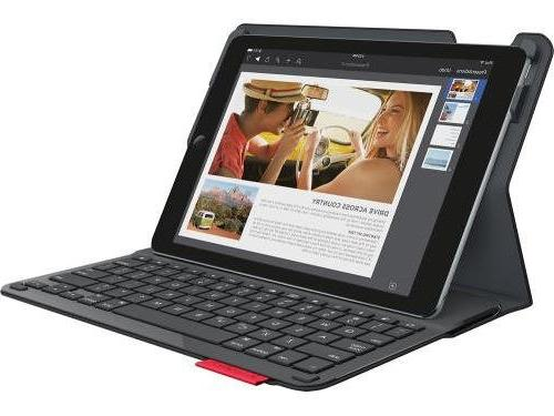 Logitech - Keyboard Case Ipad® Black