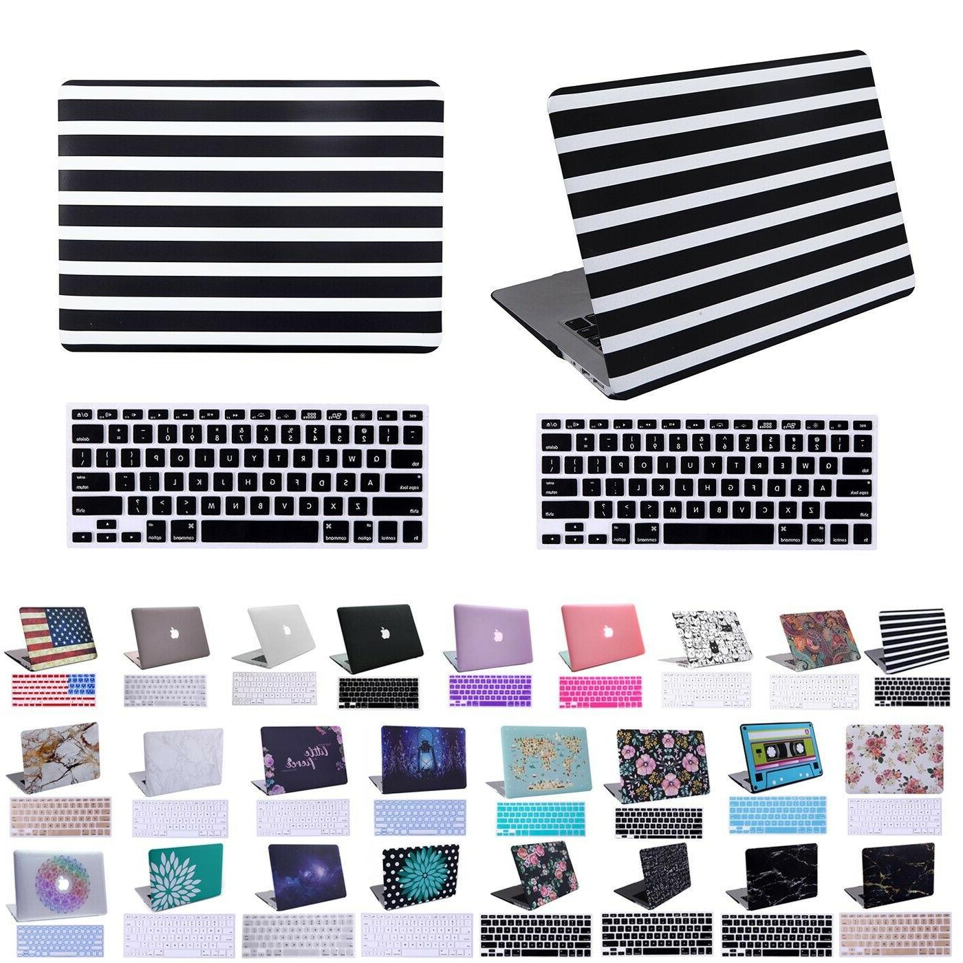 MacBook Air 13 Inch Case and Keyboard Cover for Apple Laptop