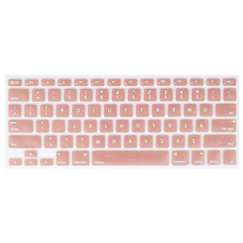 Mosiso - Keyboard Cover Silicone Skin For MacBook Air 13 And