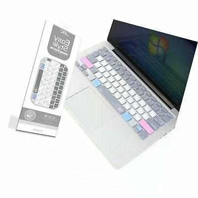 Premium Shortcuts Keyboard Cover for MacBook Air 13 inch and