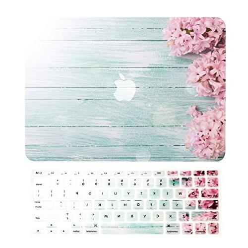 "TOP CASE - 2 in 1 Bundle Old Macbook Pro 13"" , Graphic Rubbe"