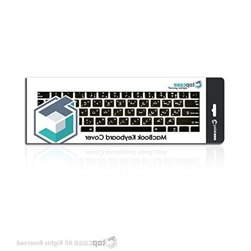 "TOP Arabic/English Letter Keyboard Skin with 13"" Generation Pro 13"" with or Display/Wireless"