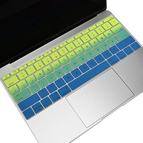 Ombre Series Cover Silicone Skin for Pro inch Release / 12-inch TOP - Green
