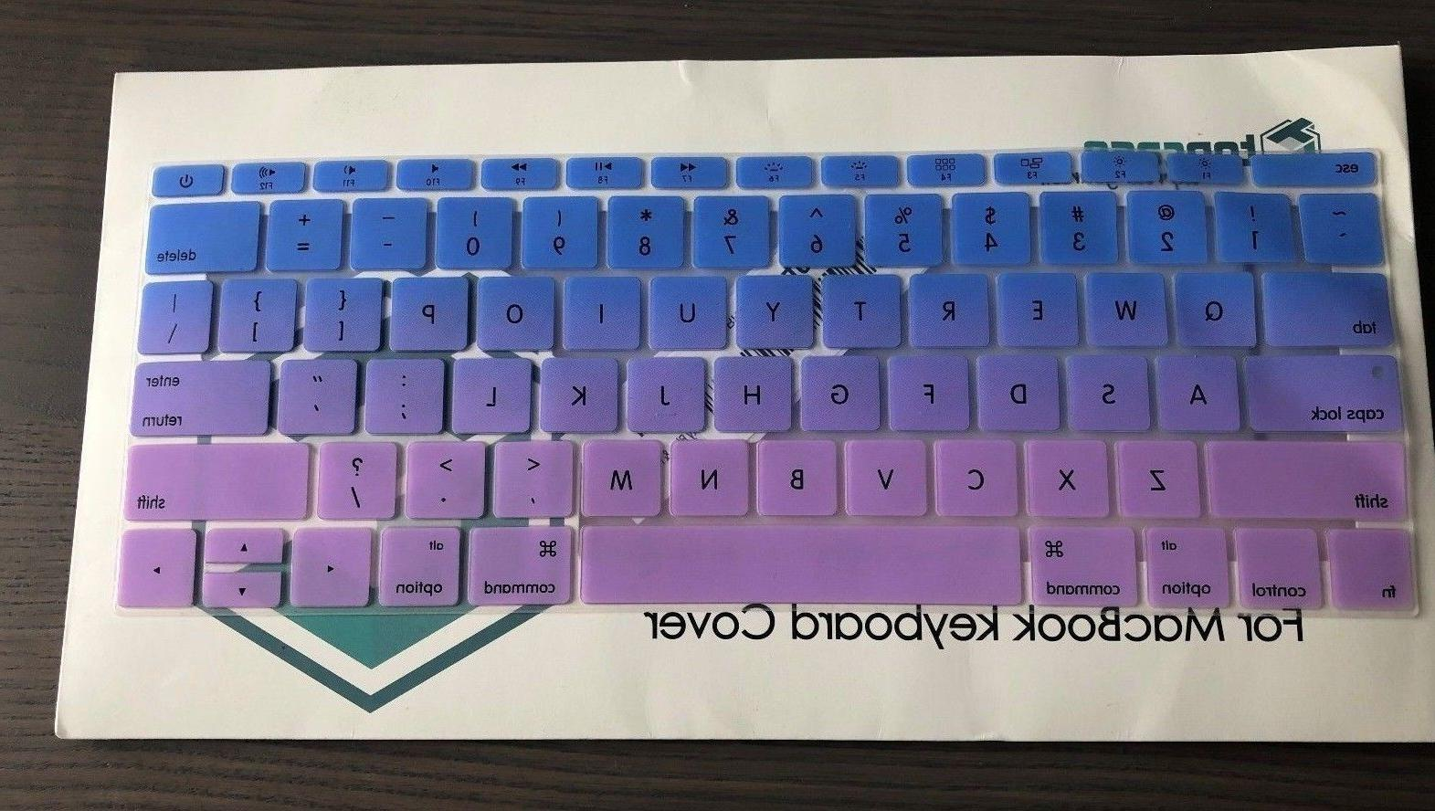 TOP CASE - Faded Ombre Series keyboard Cover Silicone Skin f