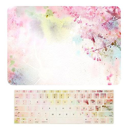 TOP CASE - Macbook Pro 13 WITHOUT Touch Bar  2 in 1, Floral