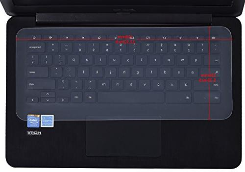 "Universal Keyboard Cover Skin for Laptop Notebook 12.1"" 13.3"""