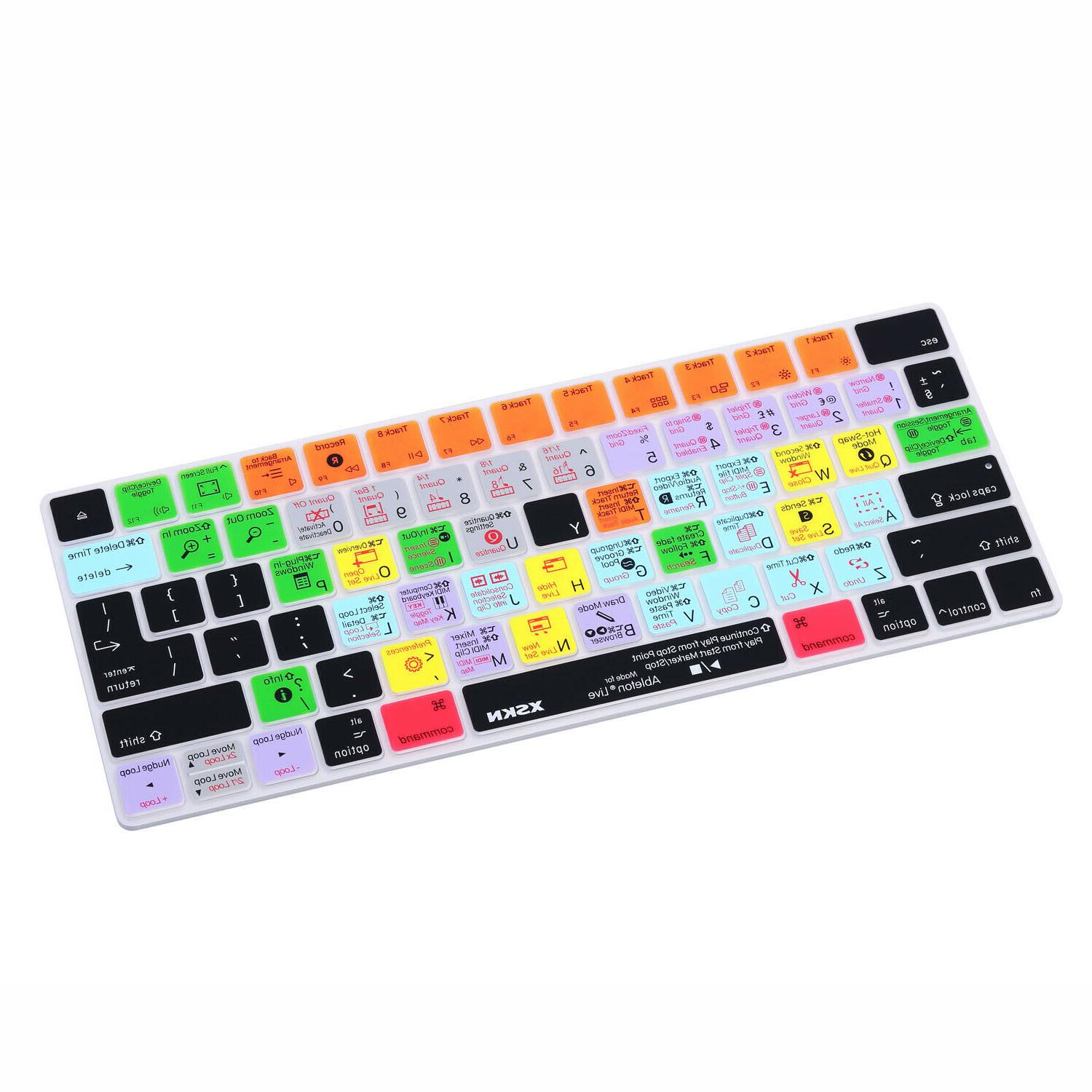 XSKN Ableton Shortcut Keyboard Cover for Apple Magic