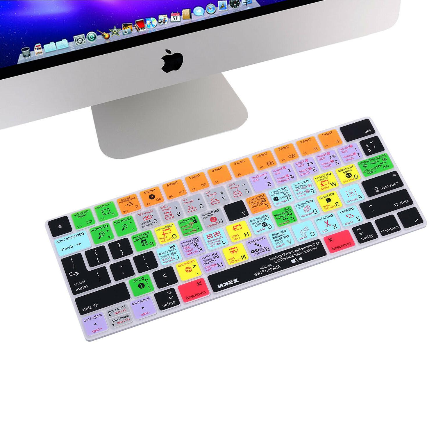 ableton live shortcut keyboard cover for apple