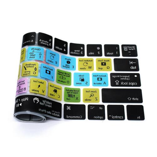 After Silicone Keyboard Cover For Macbook Touch 15