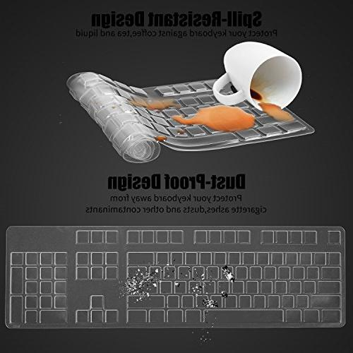 Anti Dust Keyboard Protector Skin for Dell KB212-B KB4021 US