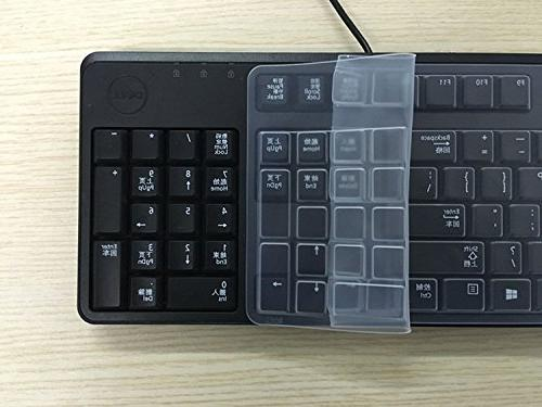 Anti Dust Waterproof Silicone Keyboard Protector Skin Cover for Keyboard KB212-B KB4021 US