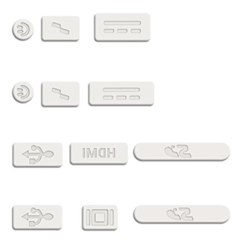 "kwmobile Protection Set - Dust Apple MacBook 15"" 13"" -"