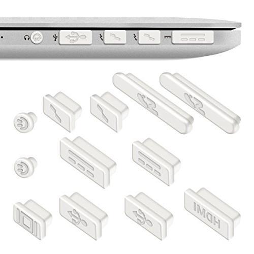 "kwmobile Protection Set Dust Plug Stopper Apple 15"" 11"" -"