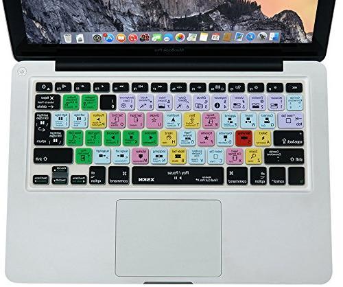 XSKN Pro X Shortcut Design Keyboard Skin Cover 15