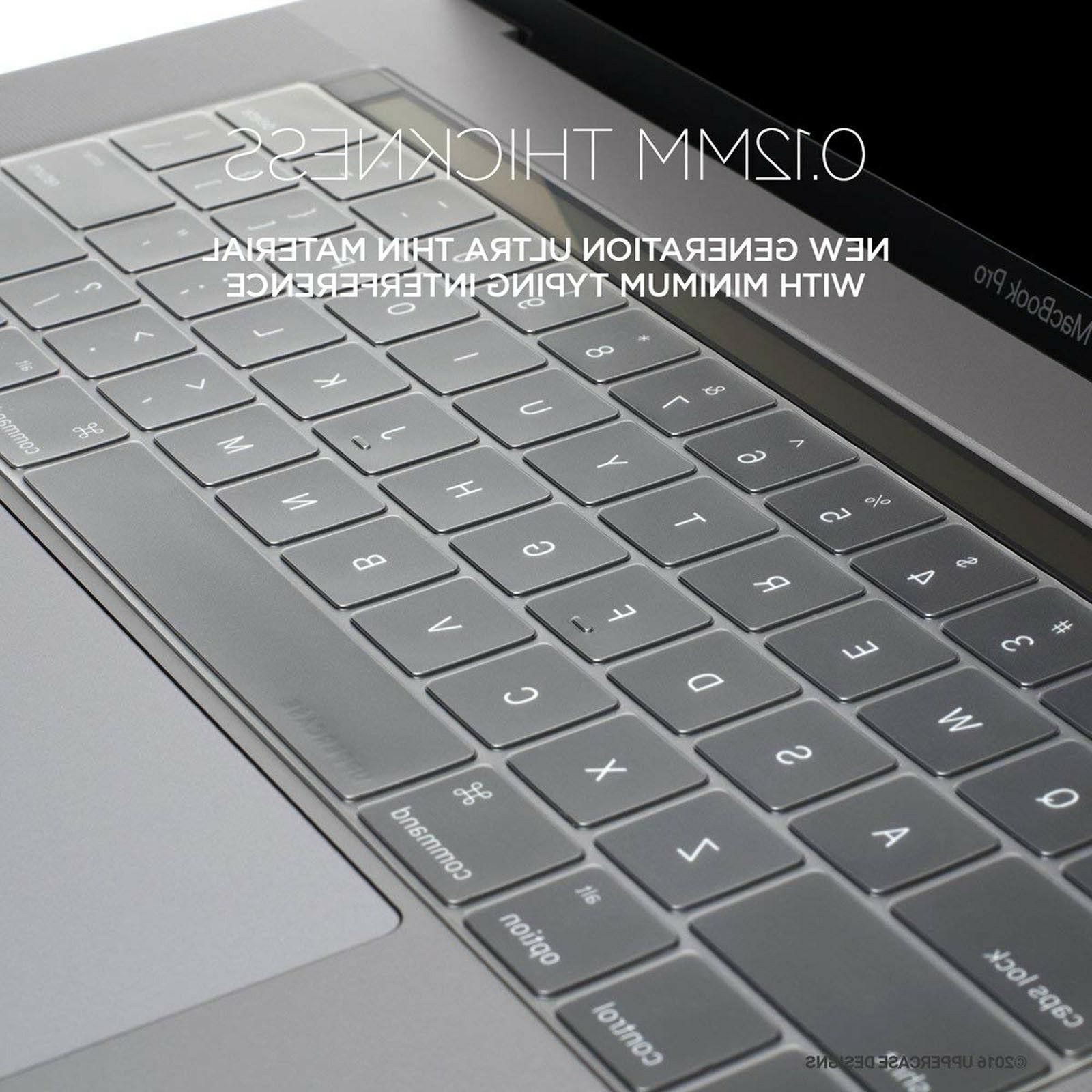 """Waterproof Keyboard Cover Skin for Apple Pro 11 13"""" 15"""