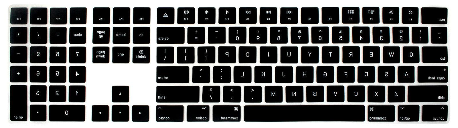 For Apple Keyboard A1843 US English keyboard Skin Cover