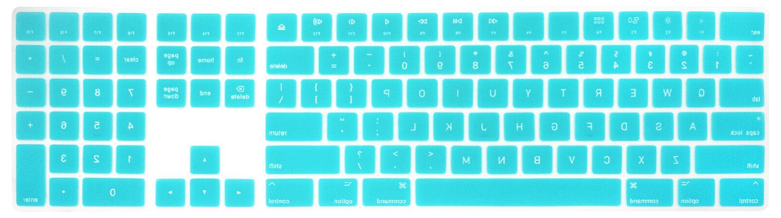 For Apple Keyboard A1843 w Numeric US Cover Mult