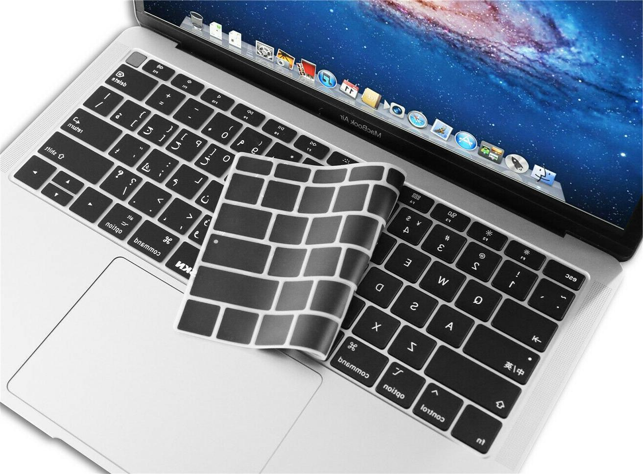 "XSKN Arabic Keyboard Compatible new MacBook 13"" with Touch A1932"