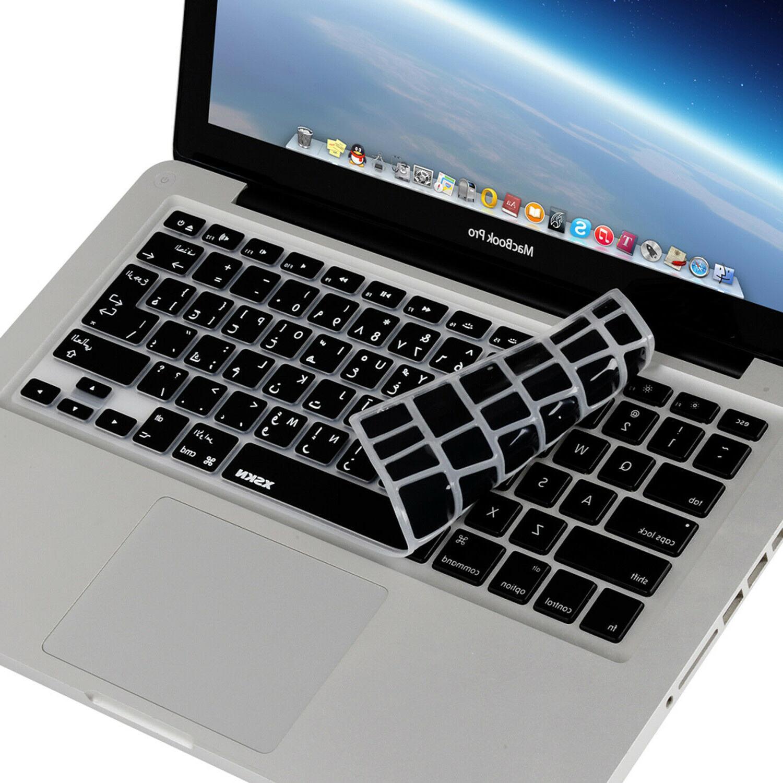 XSKN Arabic Keyboard Silicone Skin Macbook Air 13.3 15.4