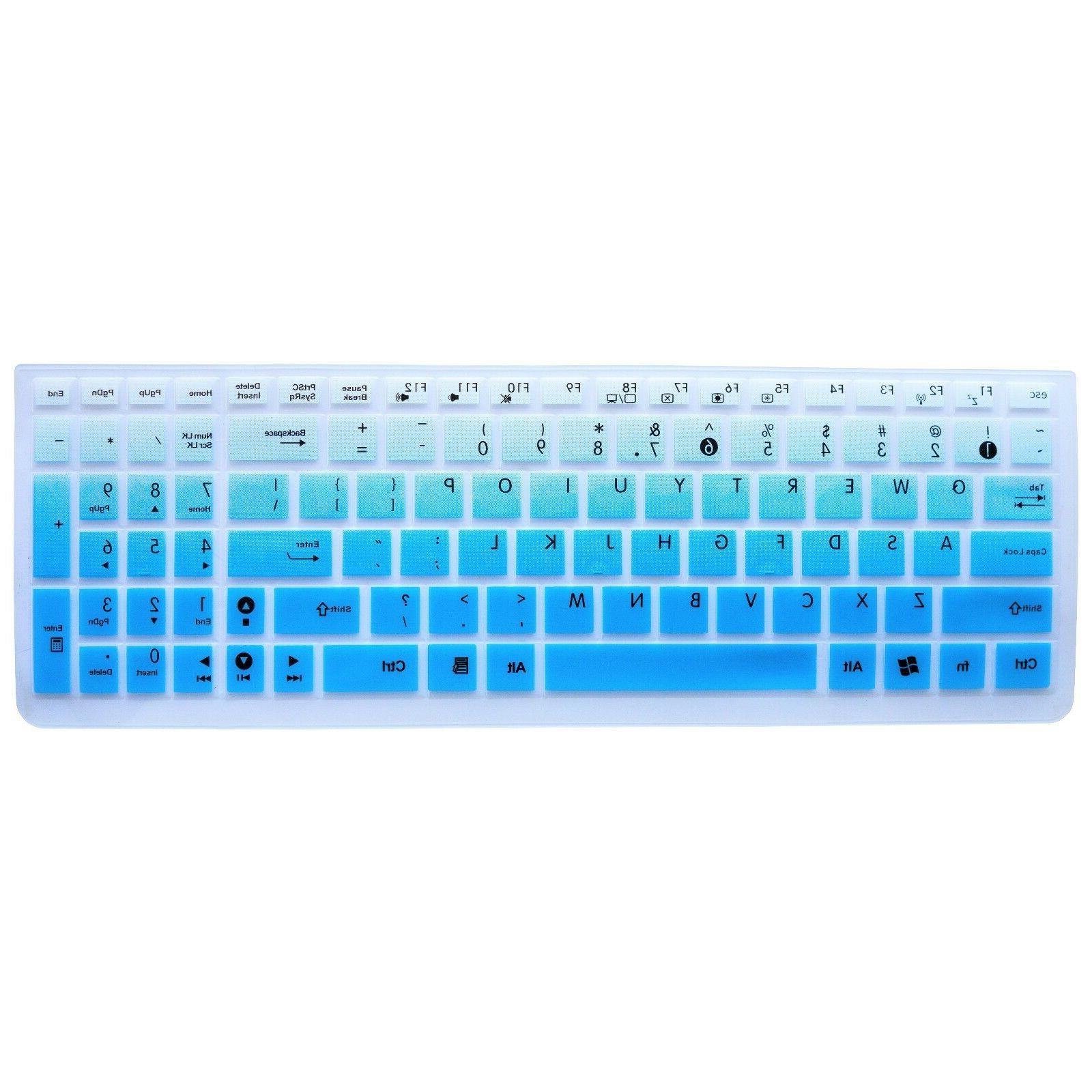 asus keyboard cover skin for asus q552ub