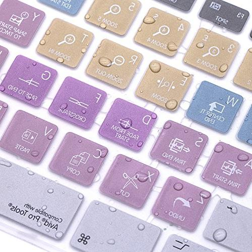 HRH Functional Design Keyboard Skin Cover for Keyboard G6 Number pad MB110LL/B and