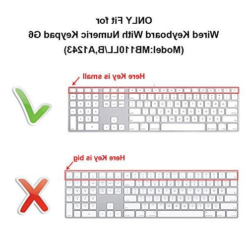 HRH Avid Functional Shortcuts Design Cover Apple Keyboard Number and