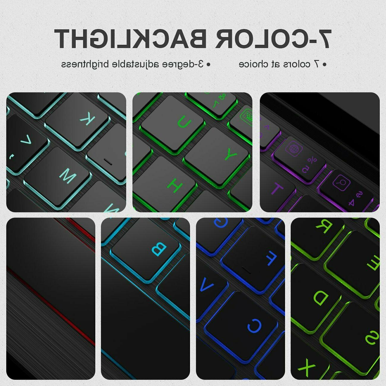 Inateck Bluetooth Keyboard Case & Cover fit 9.7 2018/2017