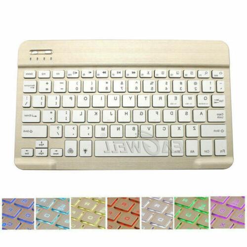 Backlit Wireless Keypad Tablet Case iPad 1 3 4 5