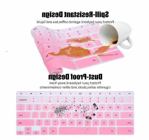 "Best Gradual Pink Keyboard Cover 11.6"" XE500C12"