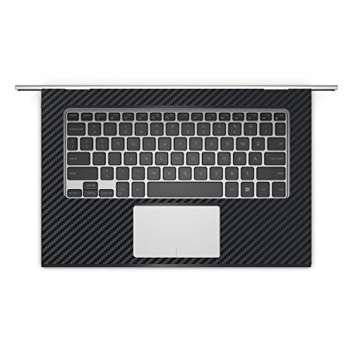 """Black decal wrap + Cover for Dell 13 7000 7353 13.3"""" laptop"""