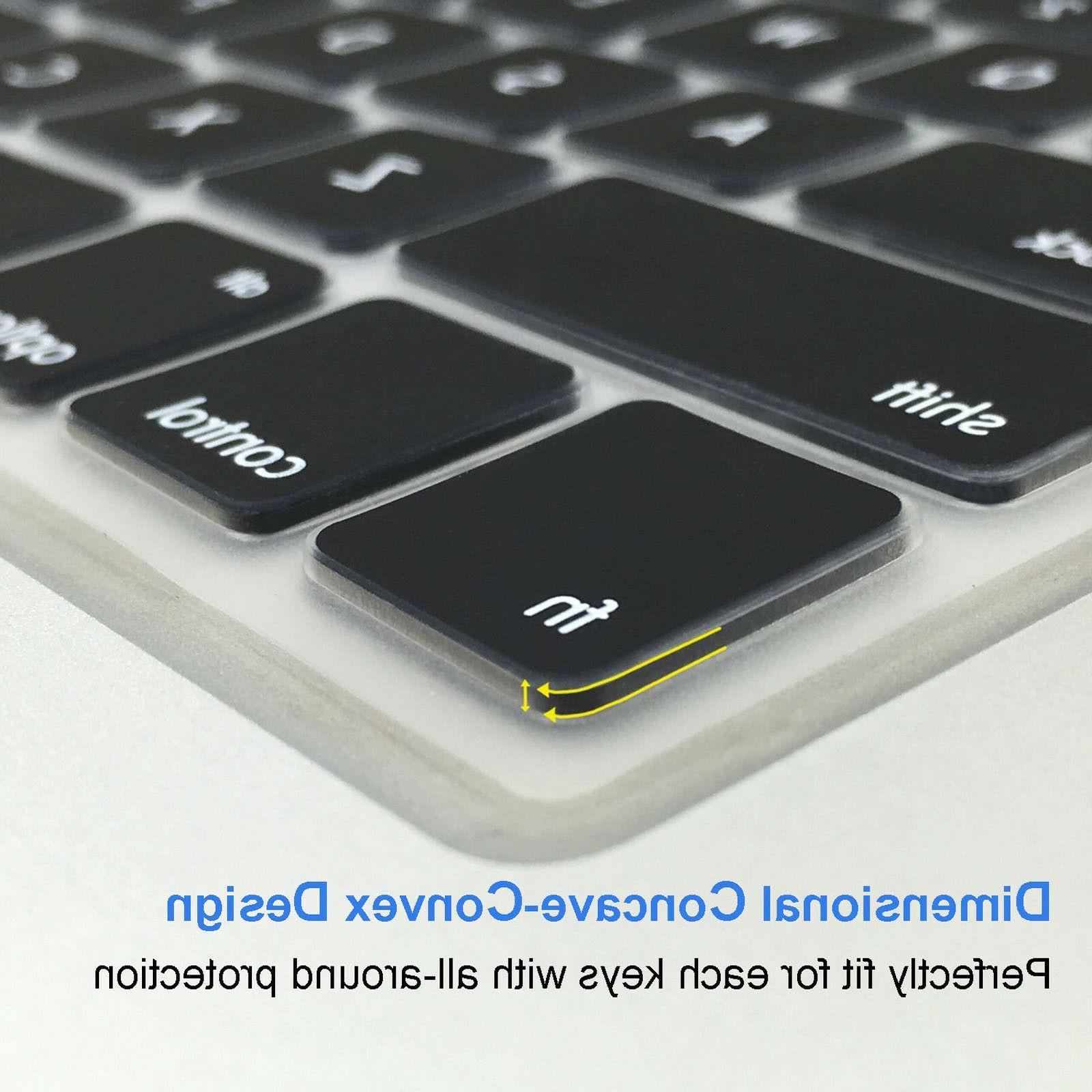 Waterproof Silicone Keyboard Skin For 2016 Macbook Pro 15inch