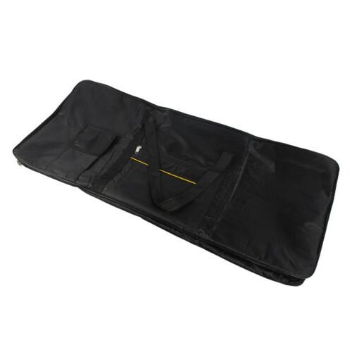 Black Dust Cover Bag for 61-Key Electronic Keyboards