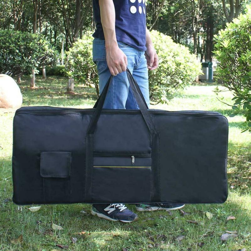 black keyboard electronic bag ypzp 61 key