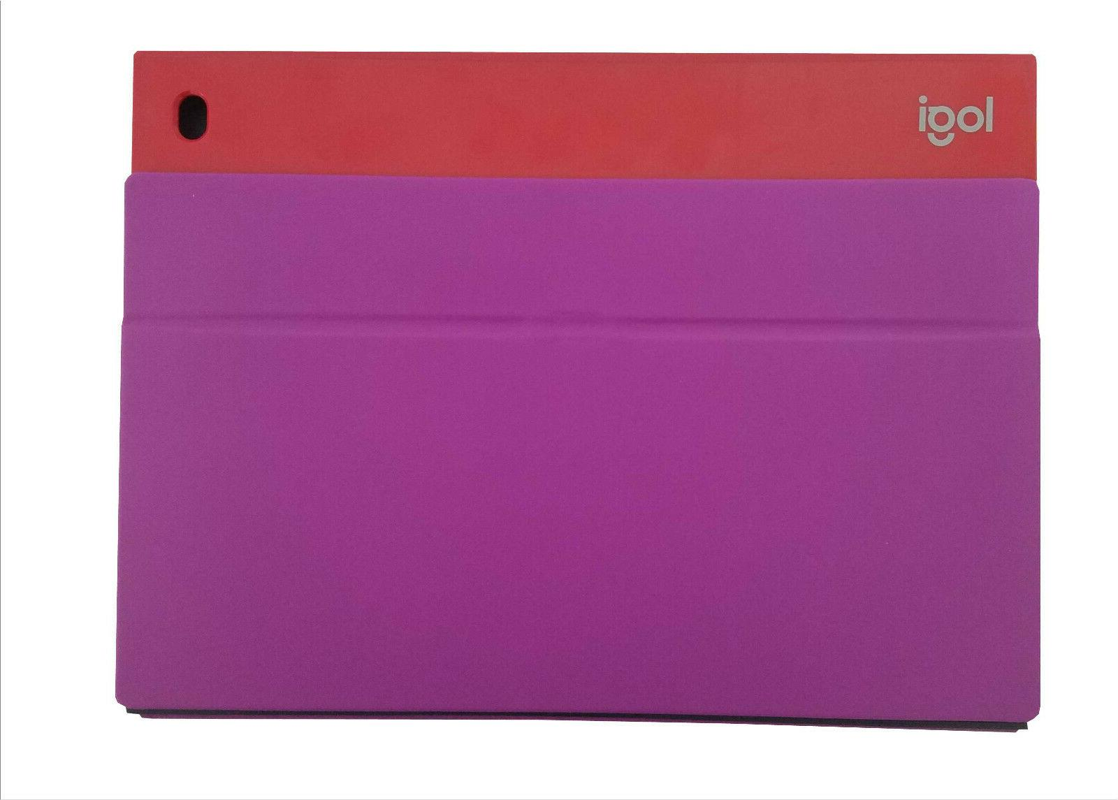 Logitech Blok UltraThin Cover Case iPad Red Violet
