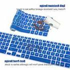 FORITO Blue Keyboard Cover Protector For Dell Inspiron 15 i5
