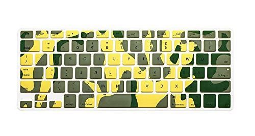 camouflage series silicone keyboard cover
