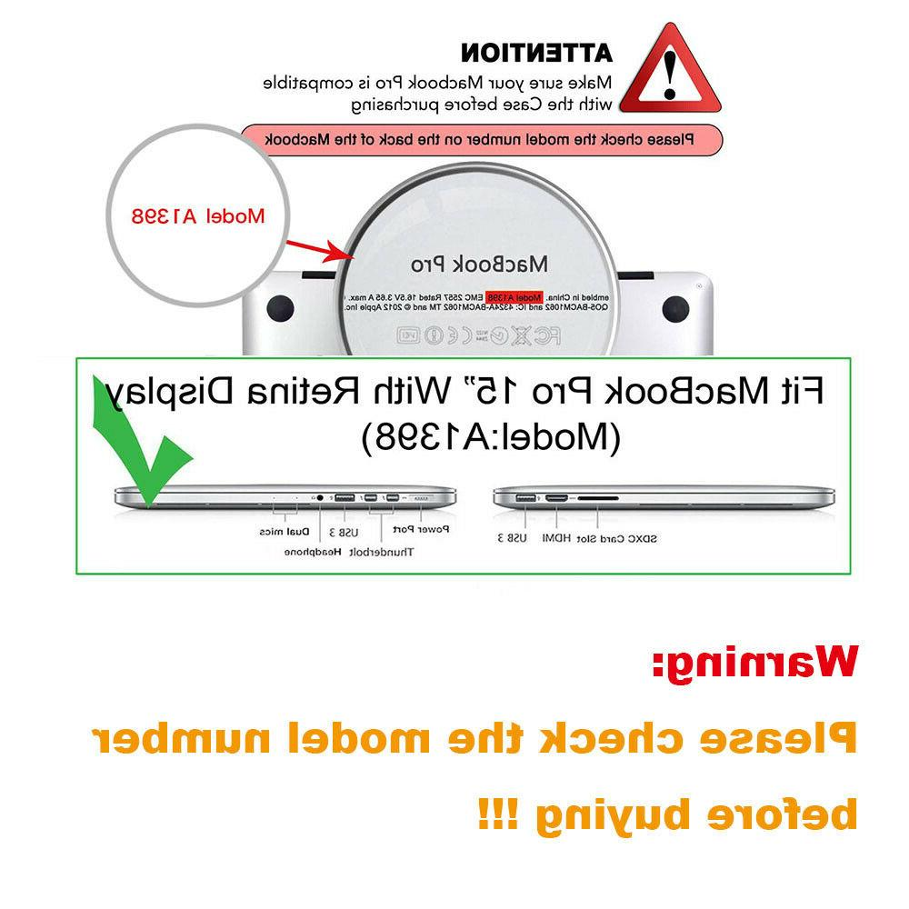 Mosiso A1398 Retina Case Matte Case keyboard cover