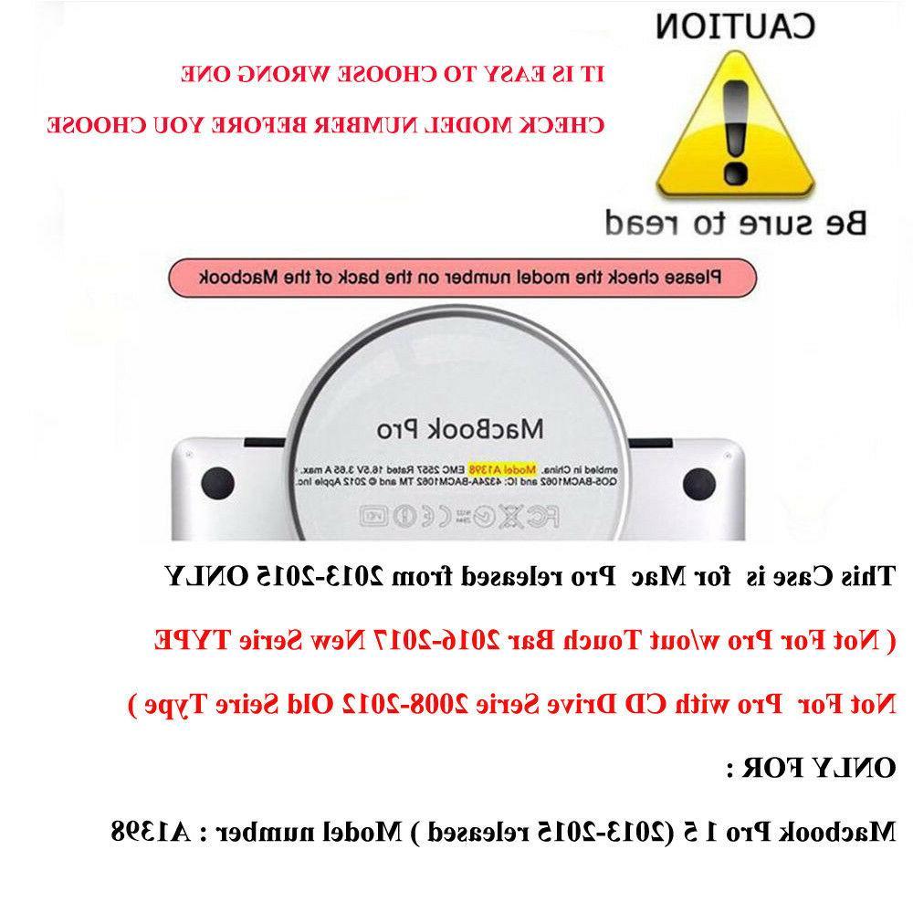 A1398 Retina Matte cover