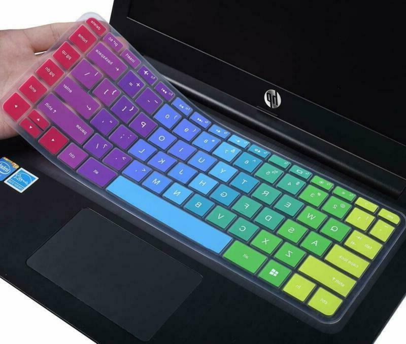"Casebuy Colorful Keyboard Cover For 13.3"" Hp Pavilion X360 1"