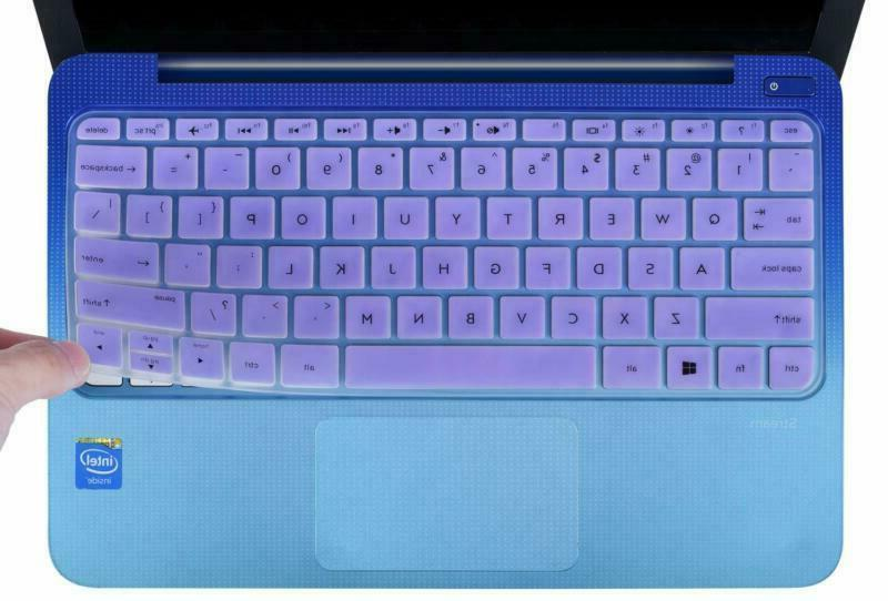 CaseBuy Keyboard Cover Compatible 2019 2018 2017 HP Stream 1