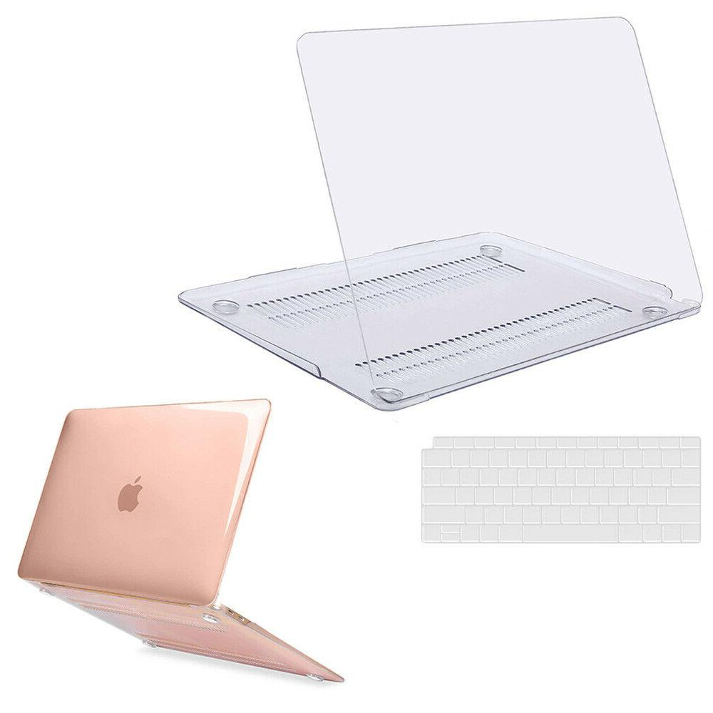 Mosiso Clear Hard Shell Case for Macbook Air13 Pro 13 15 Ret