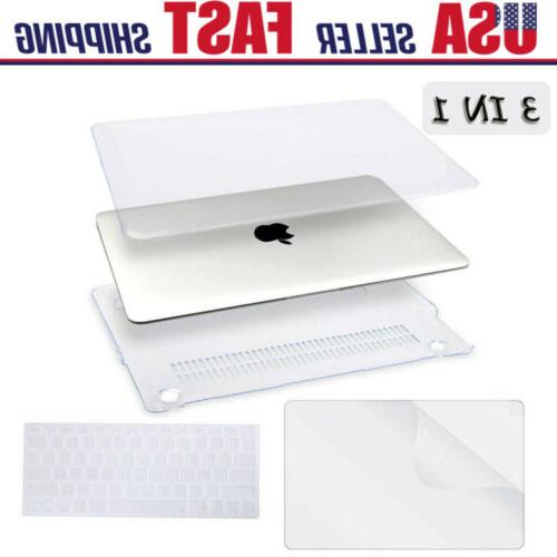 Clear Hard Shell Case+Keyboard Cover+LCD MacBook Air 11 Pro/